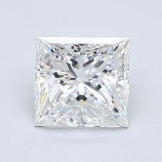 Recommended Stone #3: 1,14-Carat Princess Cut Diamond