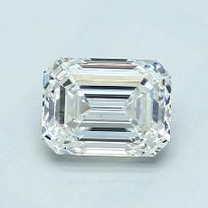 1.04-Carat Emerald Diamond Very Good G VS2