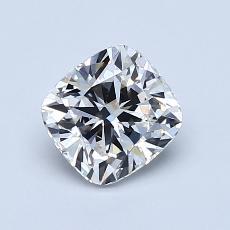 1,01-Carat Cushion Diamond Very Good G VS1