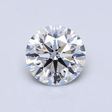 Recommended Stone #2: 0.72-Carat Round Cut Diamond