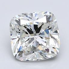 2.20-Carat Cushion Diamond Very Good H SI1