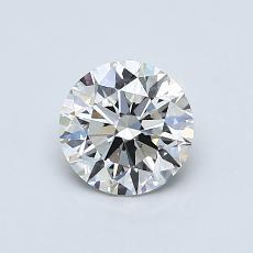 0.78-Carat Round Diamond Ideal G VS1