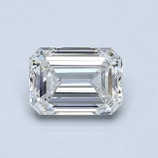 Recommended Stone #1: 0,90-Carat Emerald Cut Diamond