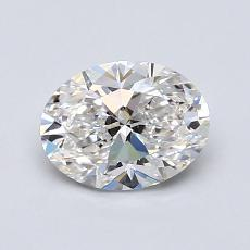 Recommended Stone #3: 1.00-Carat Oval Cut Diamond