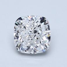 推荐宝石 2:1.29 克拉垫形钻石