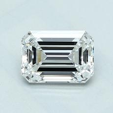 Recommended Stone #4: 1.04-Carat Emerald Cut Diamond