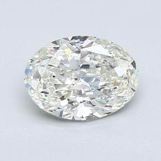1.01-Carat Oval Diamond Very Good J VS2