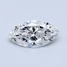 Recommended Stone #4: 0,55-Carat Marquise Cut Diamond