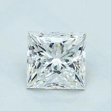 Recommended Stone #4: 1,01-Carat Princess Cut Diamond