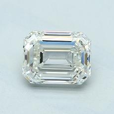 推荐宝石 4:1.05 克拉祖母绿切割钻石