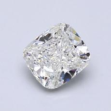 1.00-Carat Cushion Diamond Very Good H VS2