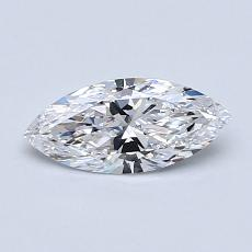 Recommended Stone #1: 0,52-Carat Marquise Cut Diamond