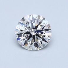 0.75-Carat Round Diamond ASTOR G VS1