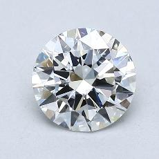 1,00 Carat Rond Diamond Idéale F VS2