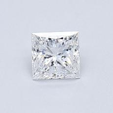 Recommended Stone #4: 0.51-Carat Princess Cut Diamond