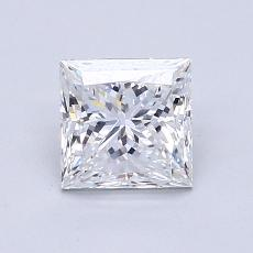 Recommended Stone #1: 1,11-Carat Princess Cut Diamond