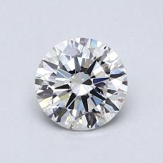 0,77-Carat Round Diamond Ideal G VS1
