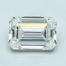 Recommended Stone #2: 1,80-Carat Emerald Cut Diamond