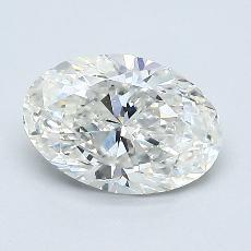 1.00-Carat Oval Diamond Very Good G VS2
