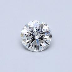 Recommended Stone #1: 0.37-Carat Round Cut Diamond