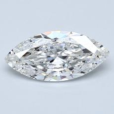 Recommended Stone #3: 1.20-Carat Marquise Cut Diamond