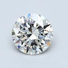 2.01-Carat Round Diamond Ideal H VS1
