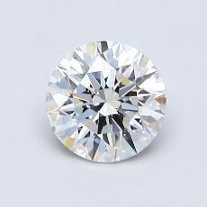 0.75-Carat Round Diamond Ideal G VS1