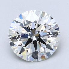 2.01 Carat 圆形 Diamond 理想 F VS1