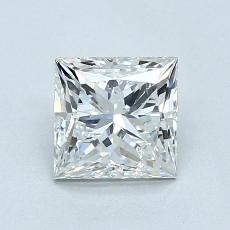 1.05 Carat Princesa Diamond Muy buena H SI2