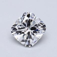 1.00-Carat Cushion Diamond Very Good E VS2