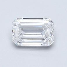 Target Stone: 0.72-Carat Emerald Cut Diamond
