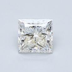 0.81 Carat 公主方形 Diamond 非常好 E VS2