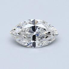 0,61-Carat Marquise Diamond Very Good G VS2