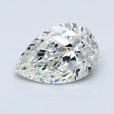 1.01 Carat 梨形 Diamond 非常好 I VS1