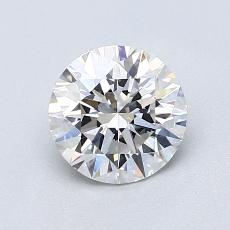1.06-Carat Round Diamond Ideal D IF