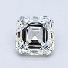 1,20-Carat Asscher Diamond Very Good H VVS2