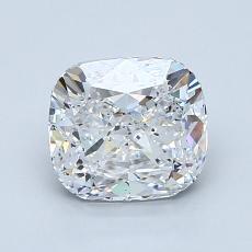 Pierre recommandée n°3: Diamant Taille coussin de 1,50carat
