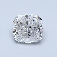 Pierre recommandée n°4: Diamant taille coussin 1,00 carats