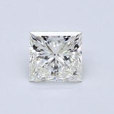 推薦鑽石 #3: 0.76  克拉公主方形鑽石