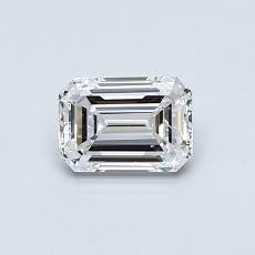 Recommended Stone #2: 0,59-Carat Emerald Cut Diamond