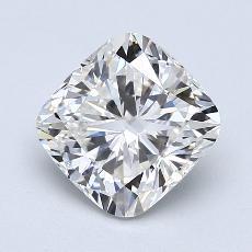 2.01-Carat Cushion Diamond Very Good F VS2