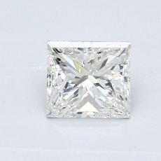 0.70 Carat 公主方形 Diamond 良好 G VS2