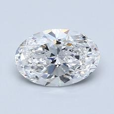 Recommended Stone #3: 1,01-Carat Oval Cut Diamond