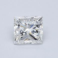 Recommended Stone #1: 0.91-Carat Princess Cut Diamond
