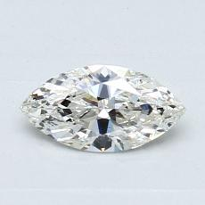 Recommended Stone #1: 0,51-Carat Marquise Cut Diamond