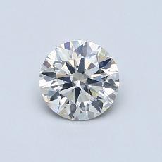 推薦鑽石 #2: 0.60  克拉圓形切割