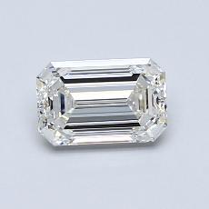 Pierre recommandée n°2: Diamant 0,90carat taille émeraude