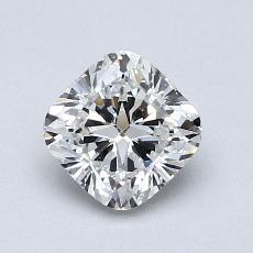 1.00 Carat クッション Diamond ベリーグッド G VVS1