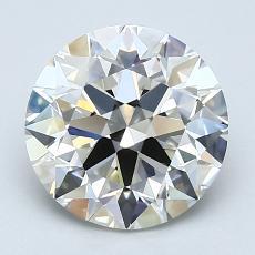 2.21 Carat 圓形 Diamond 理想 J VS1