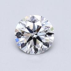 Pierre recommandée n°3: Diamant taille ronde 0,80 carat